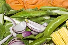 Vegetables For Stir-fry Royalty Free Stock Images