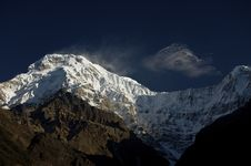 Free South Summit Of Anapurna At First Light Stock Images - 18007944