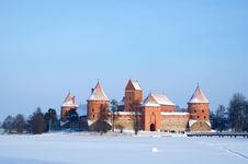 Free Castle In Winter Royalty Free Stock Image - 18008486