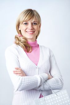 Free Blonde Young Woman Stock Photography - 18008592