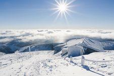 Free Winter Sun Royalty Free Stock Photography - 18009647