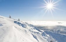 Free Winter Sun Royalty Free Stock Photos - 18009668