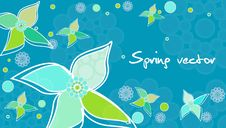 Free Spring Card Royalty Free Stock Photography - 18009837