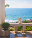 Free Fragment Of Arbour  Ashore Sea Stock Photography - 18014002