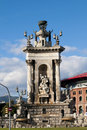 Free Statue In Placa Espanya Stock Images - 18014874