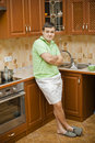 Free A Young Attractive Man In The Kitchen Royalty Free Stock Photos - 18016478