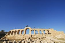 Free Hippodrome In Jerash Stock Images - 18010334
