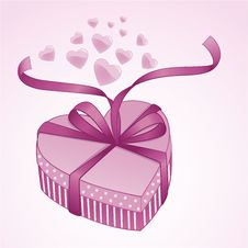 Free Valentine Gift Box Stock Photo - 18011260
