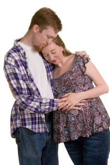 Free Expecting Couple Stock Image - 18011581