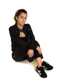 Free Young Latino Woman Royalty Free Stock Photo - 18011655