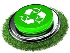 Free Recycle Push Button Stock Photos - 18011673