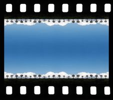Free Sea Blue Lagoon In A Film Frame Stock Images - 18011694