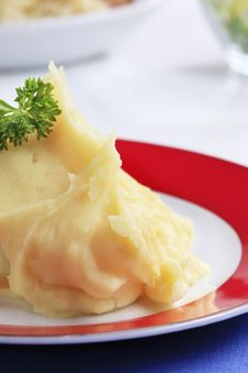 Free Mashed Potato Stock Photo - 18012480