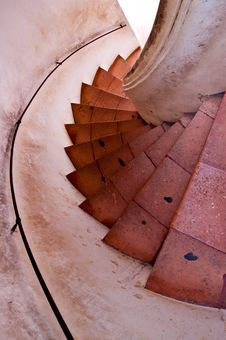 Free Spiral Staircase. Stock Images - 18013734