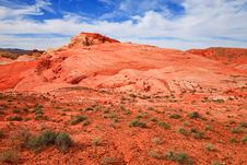Free Valley Of Fire Desert Royalty Free Stock Photo - 18013745