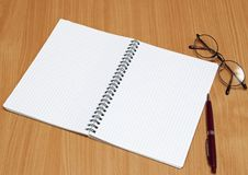 Free Notebook And Pen Royalty Free Stock Photo - 18015585