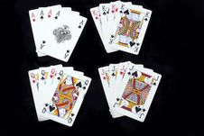Free Poker Playing Cards Stock Photos - 18015623