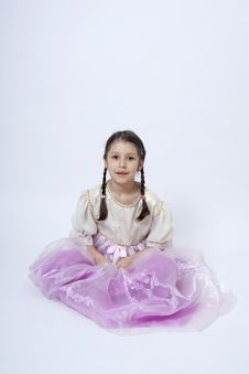 Free Little Princess Royalty Free Stock Photo - 18017695