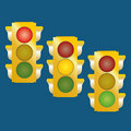 Free Traffic Lights Stock Images - 18020244