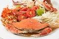 Free Crab Papaya Salad Stock Photo - 18022270
