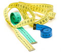Free Three Color Measuring Tapes Stock Photography - 18023282