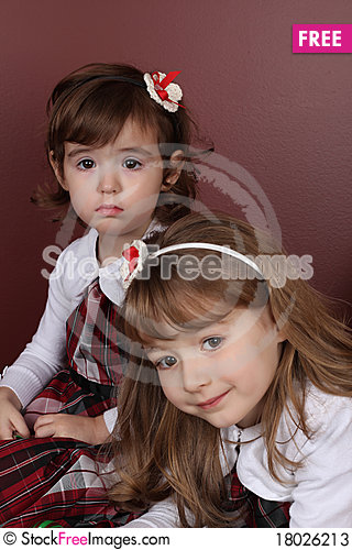 Free Two Sisters Stock Photos - 18026213