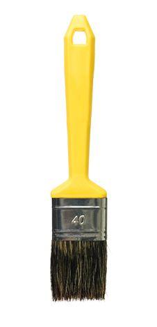 Free Yellow Paintbrush Stock Images - 18020614