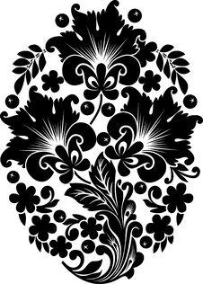 Free Black Background Ornament Stock Photos - 18020853
