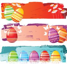 Free Easter Banners Stock Photo - 18021170