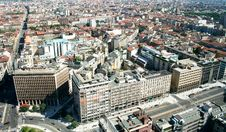 Free Milan, Panoramic View Royalty Free Stock Photo - 18021275