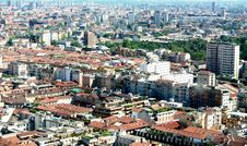 Free Milan, Panoramic View Royalty Free Stock Image - 18021276