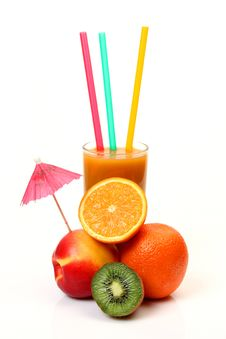 Free Juice And Fruit Stock Photos - 18021493