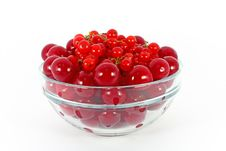 Free Sweet Cherry And Currants Royalty Free Stock Image - 18021526
