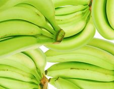 Free Green Bananas America Royalty Free Stock Images - 18021659
