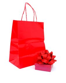 Free Gift Wrapped Box Royalty Free Stock Images - 18021679