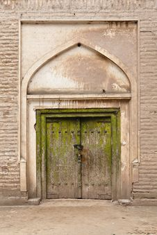 Xinjiang: Building Of Islamic Style Royalty Free Stock Images