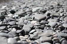 Free Mound Of Dry Pebbles Royalty Free Stock Photography - 18022957