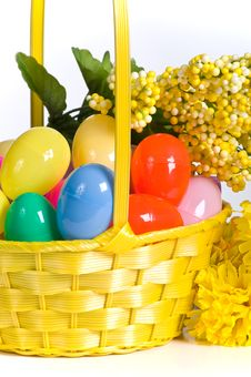 Free Plastic Easter Eggs Royalty Free Stock Photo - 18022975