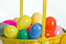 Free Plastic Easter Eggs Stock Image - 18022981