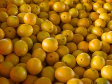 Free Fresh Oranges Wallpaper Background Royalty Free Stock Image - 18023066