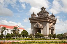 Free Patuxai Monument Stock Photos - 18023503