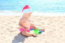 Free Child On  The Sea Stock Photos - 18024393