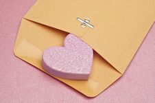 Free Love Letter Stock Photography - 18025012