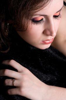 Free Beautiful Girl Face With Make-up Stock Photos - 18025173