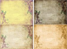 Free Old Vintage Paper Collage. Royalty Free Stock Photography - 18026527