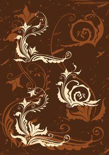Free Set Of Decorative Elements Royalty Free Stock Photography - 18027107