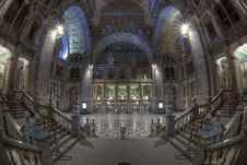 Antwerp Central Station Hall Stock Image