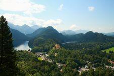 Free Hohenschwangau Castle Stock Photo - 18027320