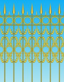 Free Fence. Stock Image - 18027461