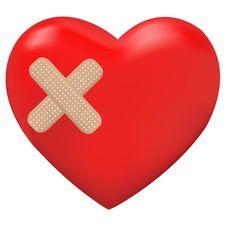 Free Heart. Vector Royalty Free Stock Photography - 18027557
